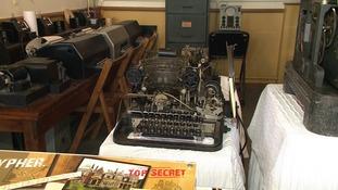 A Nazi teleprinter found on Ebay for £9.99.