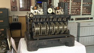 The Lorenz machine.