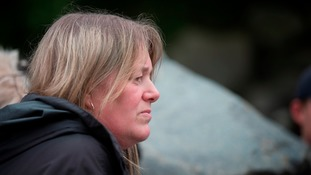 Fiona Gosling - mum of Cameron Gosling who died after getting into difficulties in the River Wear last summer (2015)