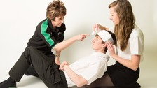 First aid in practice