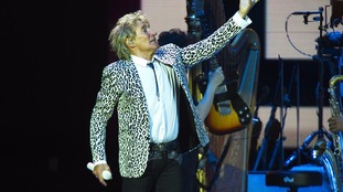 Rod Stewart last visited in 2011.