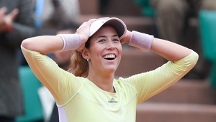 Muguruza downs Williams to win French Open title
