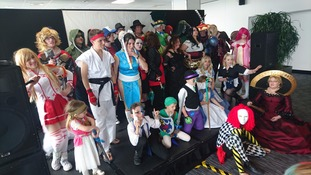 Cosplay at convention