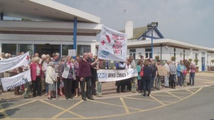 More than 100 campaigners rally to save Hornsea Minor Injuries Unit