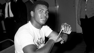 Boxing legend Muhammad Ali interviewed in 1964