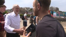 Jeremy Corbyn was more than happy to record a video