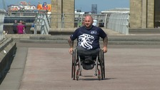 Rick's charity, a Soldier's Journey, has so far raised more than £20 000.
