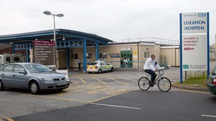 The woman died at Leighton Hospital in Crewe.