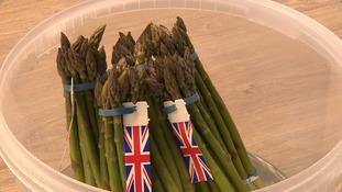 A recent warm spell as ripened the region's asparagus.