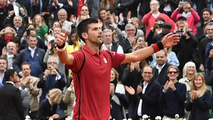 Novak Djokovic beats Andy Murray in four sets to win French Open title for first time