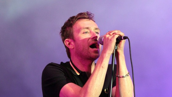 Damon Albarn.