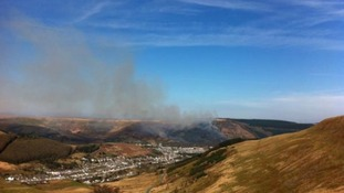 Treorchy fire