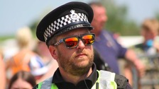 Police have been thanked for swiftly responding to incidents on Saturday.