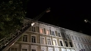150 people evacuated from hotel in Earls Court after fire breaks out
