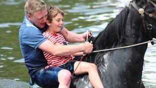 The Appleby Horse Fair.