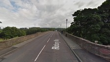 Hexham Bridge Google Street View