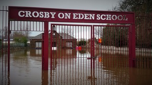 Cumbrian school reopens after flooding