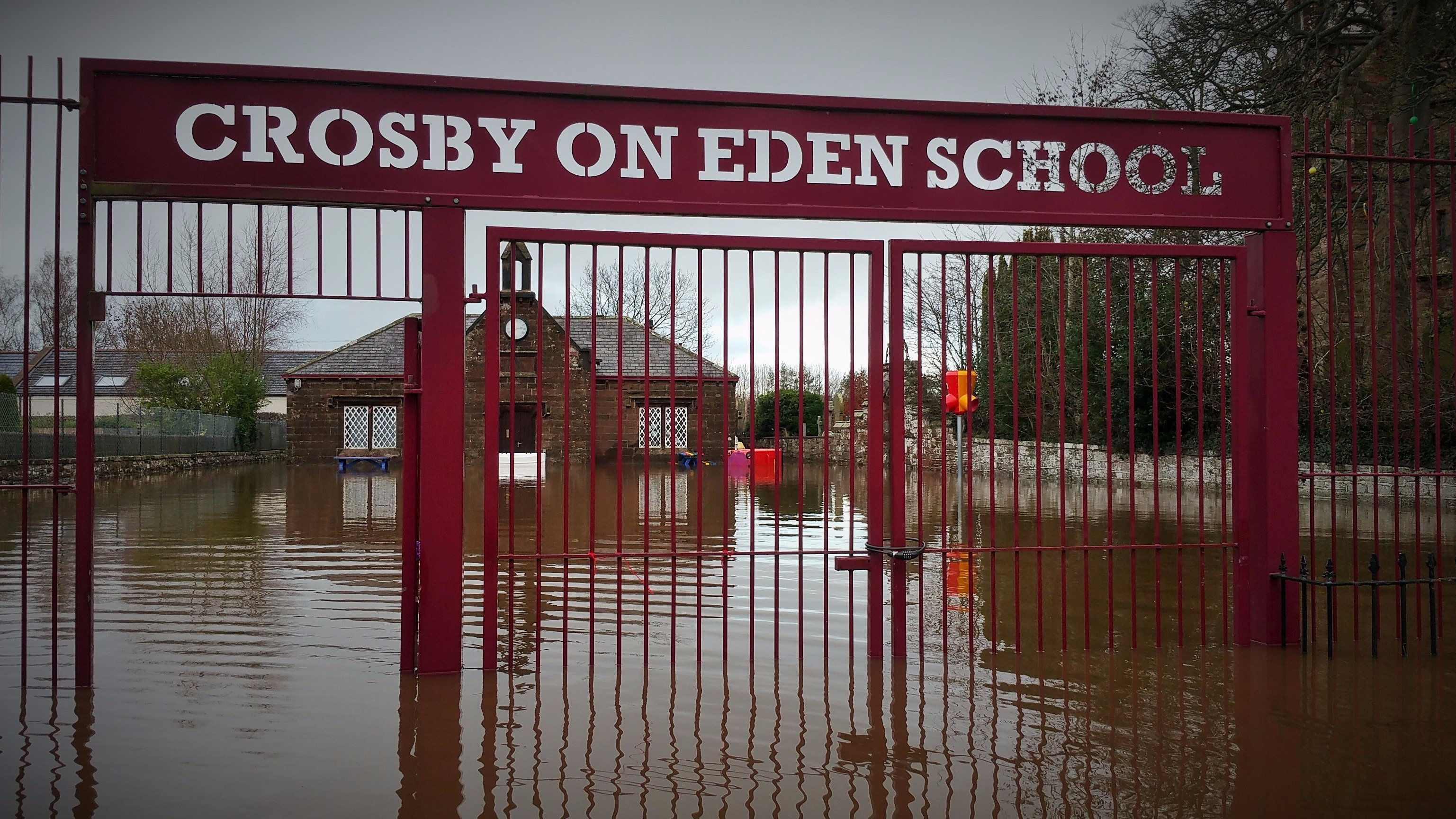 Cumbrian School Reopens After Flooding Border Itv News