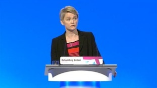 Labour's shadow home secretary Yvette Cooper