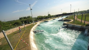Library picture of the Lee Valley White Water Centre.