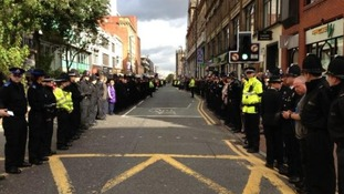 PC Nicola Hughes funeral