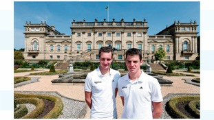 Jonny and Alistair  Brownlee