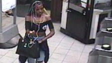 Reneisha Brown was captured on CCTV at Kennington station on 2 June