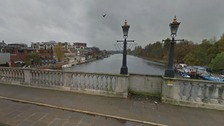 The woman was pulled out of the Thames by the two nightclub managers