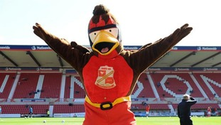 Swindon Town to hold X Factor-style auditions for new mascot Rockin' Robin