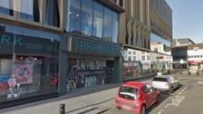 Primark shopfront