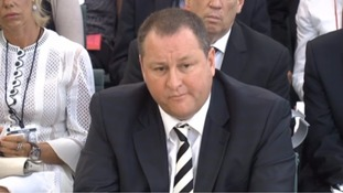 Mike Ashley told MPs they were 'pushing against an open door' in demanding changes to work practices.