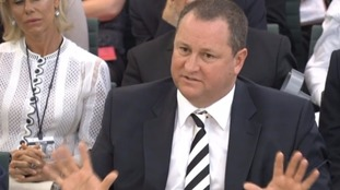 Mike Ashley told MPs: 'Please don't ask me any more questions' after teasing the BHS response out of him.
