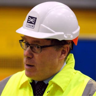 Crossrail chief executive Andrew Wolstenholme was the highest paid official