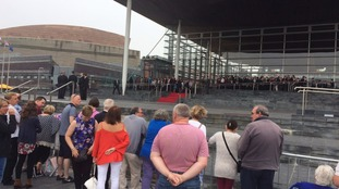 Senedd Red Carpet
