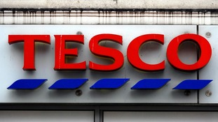 File photo dated 13/01/09 of a sign on a Tesco store as supermarket boss