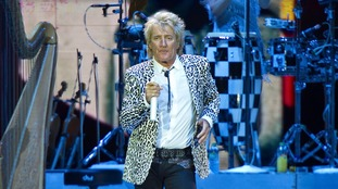 Rod Stewart in concert in Germany on 1 June