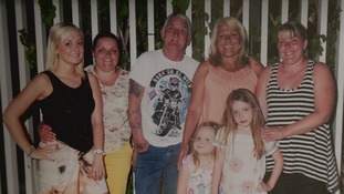 The family of Ken Cresswell