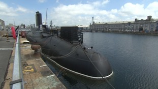 Nuclear submarine re-opens after refit