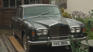 The Rolls Royce Silver Shadow.