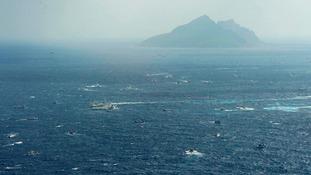 The disputed islands in the East China Sea, known as Senkaku in Japan, Diaoyu in China and Tiaoyutai in Taiwan