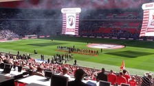 Swindon Town at Wembley