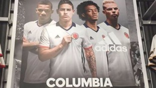 Adidas criticised by fans after misspelling Colombia in ad campaign for national team