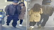 The pair police want to trace.