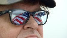 US filmmaker Michael Moore.