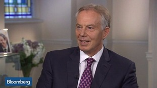 Blair attacks Corbyn for calling him a 'war criminal' over Iraq while 'doing nothing' to stop Syrians being killed