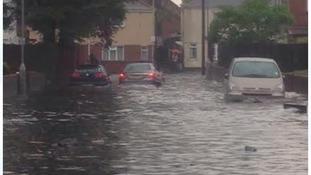 Flooding in Wolverhampton