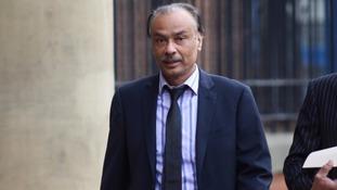 Mohammed Zaman outside court