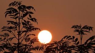 Accrington sunset  ANGELA FOX