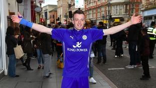 Jamie Vardy's postman lookalike would be 'devastated' if striker moves to Arsenal