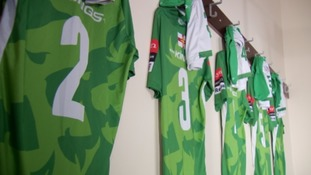Guernsey FC team kit